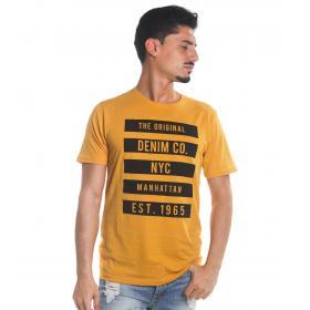 T-Shirt Tony Montoro girocollo in cotone con stampa da uomo rif. 1906