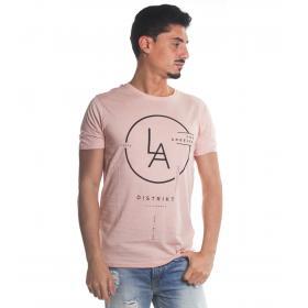 T-Shirt Tony Montoro girocollo in cotone con stampa da uomo rif. 1917