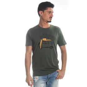 T-Shirt Tony Montoro girocollo in cotone con stampa da uomo rif. 1919