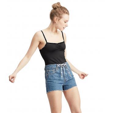 Body Levi's Paige Bodysuit con bordino con logo da donna rif. 77615-0001