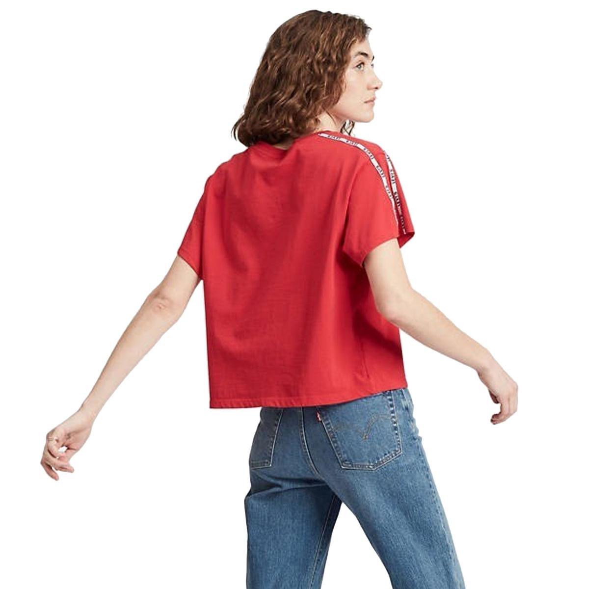 T-shirt Levi's Varsity Tee girocollo con stampe da donna rif. 68979-0006