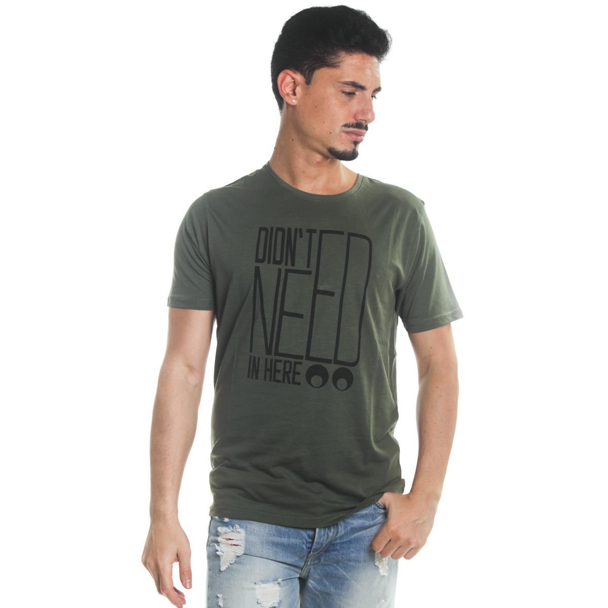 T-Shirt Tony Montoro girocollo in cotone con stampa da uomo rif. 1921