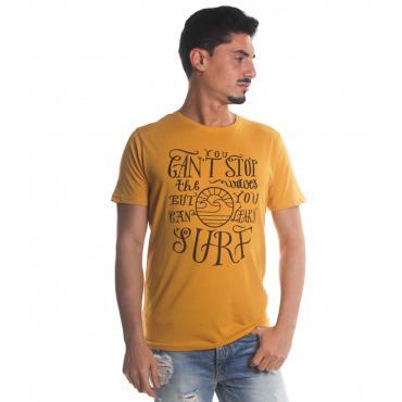 T-Shirt Tony Montoro girocollo in cotone con stampa da uomo rif. 1925