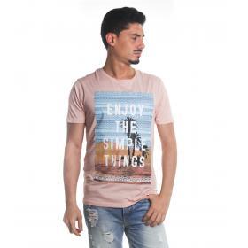 T-Shirt Tony Montoro girocollo in cotone con stampa da uomo rif. 1931