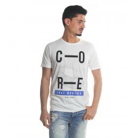 T-Shirt Tony Montoro girocollo in cotone con stampa da uomo rif. 1934