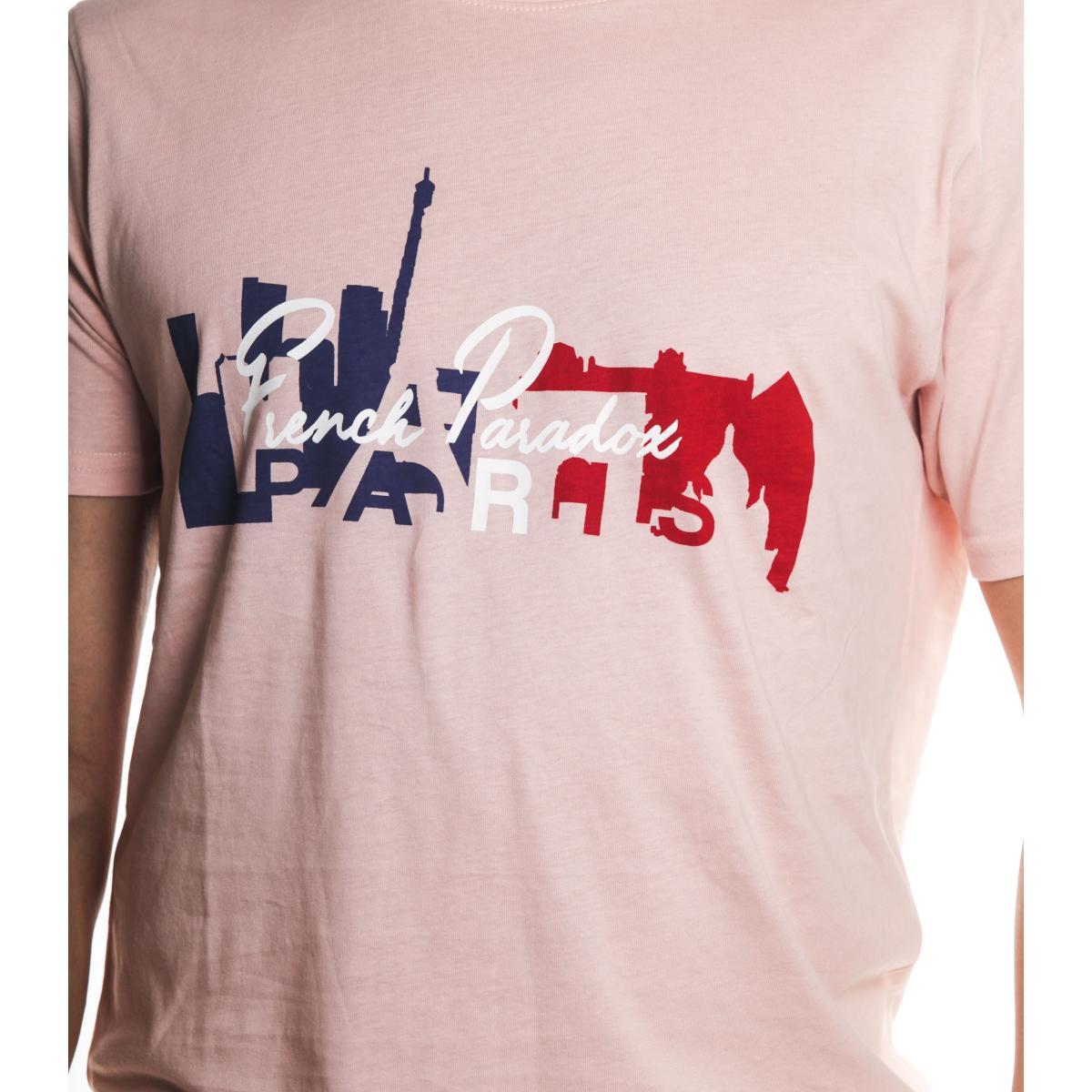 T-Shirt Tony Montoro girocollo in cotone con stampa da uomo rif. 1935