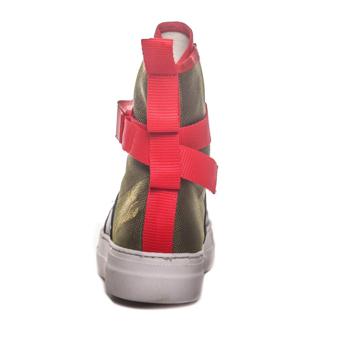 Scarpe Sneakers MINIMAL alte a stivaletto da uomo rif. SHU01