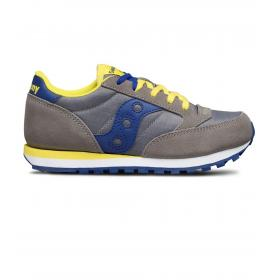 Scarpe Sneakers Saucony Jazz Original Grey/Blue Boys da bambino rif. SK261001