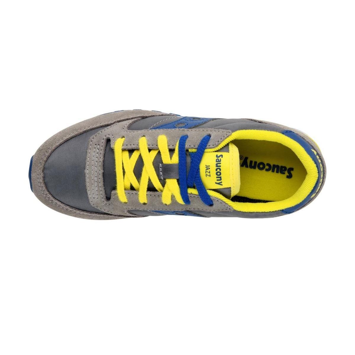 Scarpe Sneakers Saucony Jazz Original Grey/Blue Boys da bambino rif. SK261001