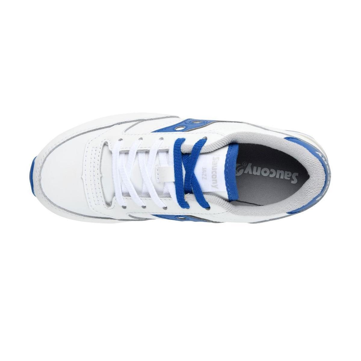 Scarpe Sneakers Saucony Jazz Original White/Blue Boys da bambino rif. SK261259