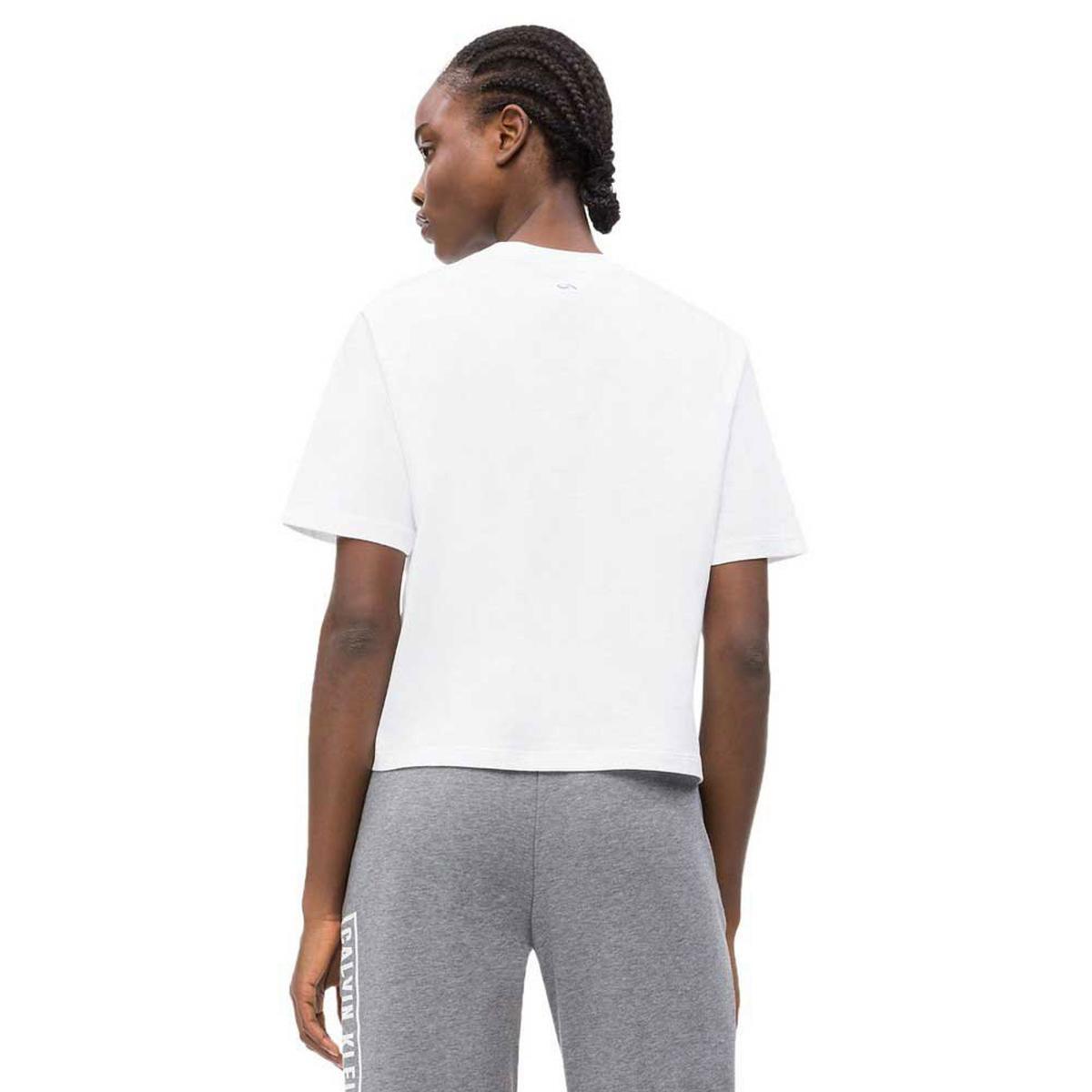 T-shirt Calvin Klein Performance in cotone con logo da donna rif. 00GWS9K103