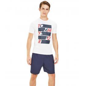 T-shirt Tommy Hilfiger Sport con logo sul davanti da uomo rif. S20S200052
