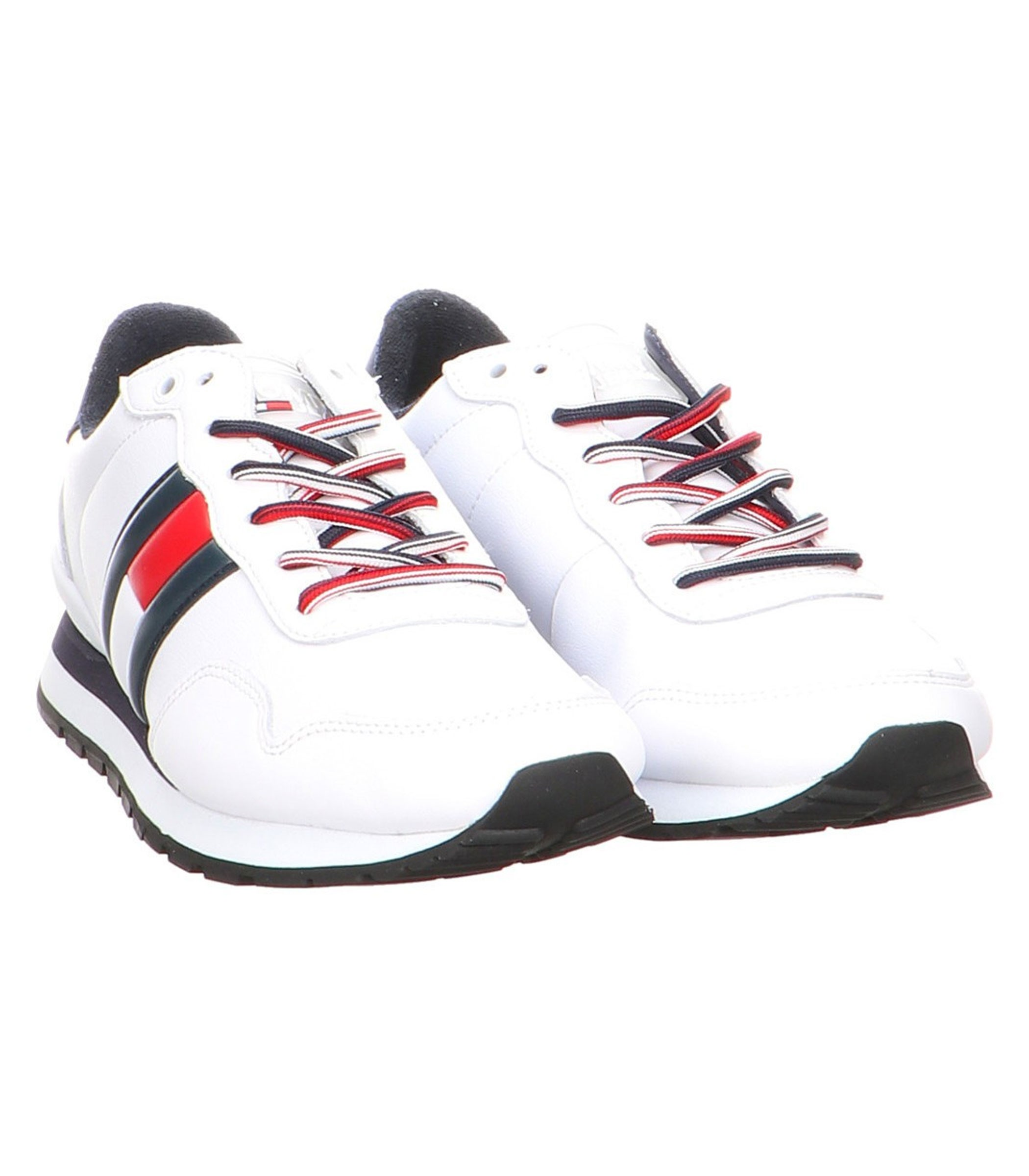 the latest 87d09 ab52f Scarpe Sneakers Tommy Hilfiger Leather in pelle da uomo rif ...