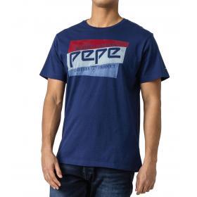T-shirt Pepe Jeans girocollo con logo archive da uomo rif. PM506545 DOMINIK