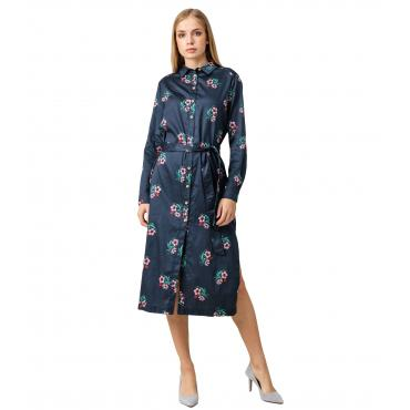 Vestito Pepe Jeans fantasia floreale modello camicia da donna rif. PL952535 LUISA