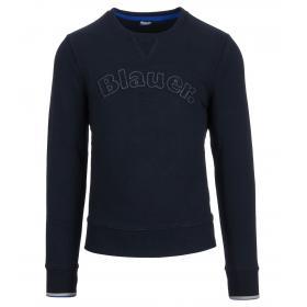 Felpa Blauer USA Stile Academy girocollo da uomo rif. 19SBLUF03055 004544
