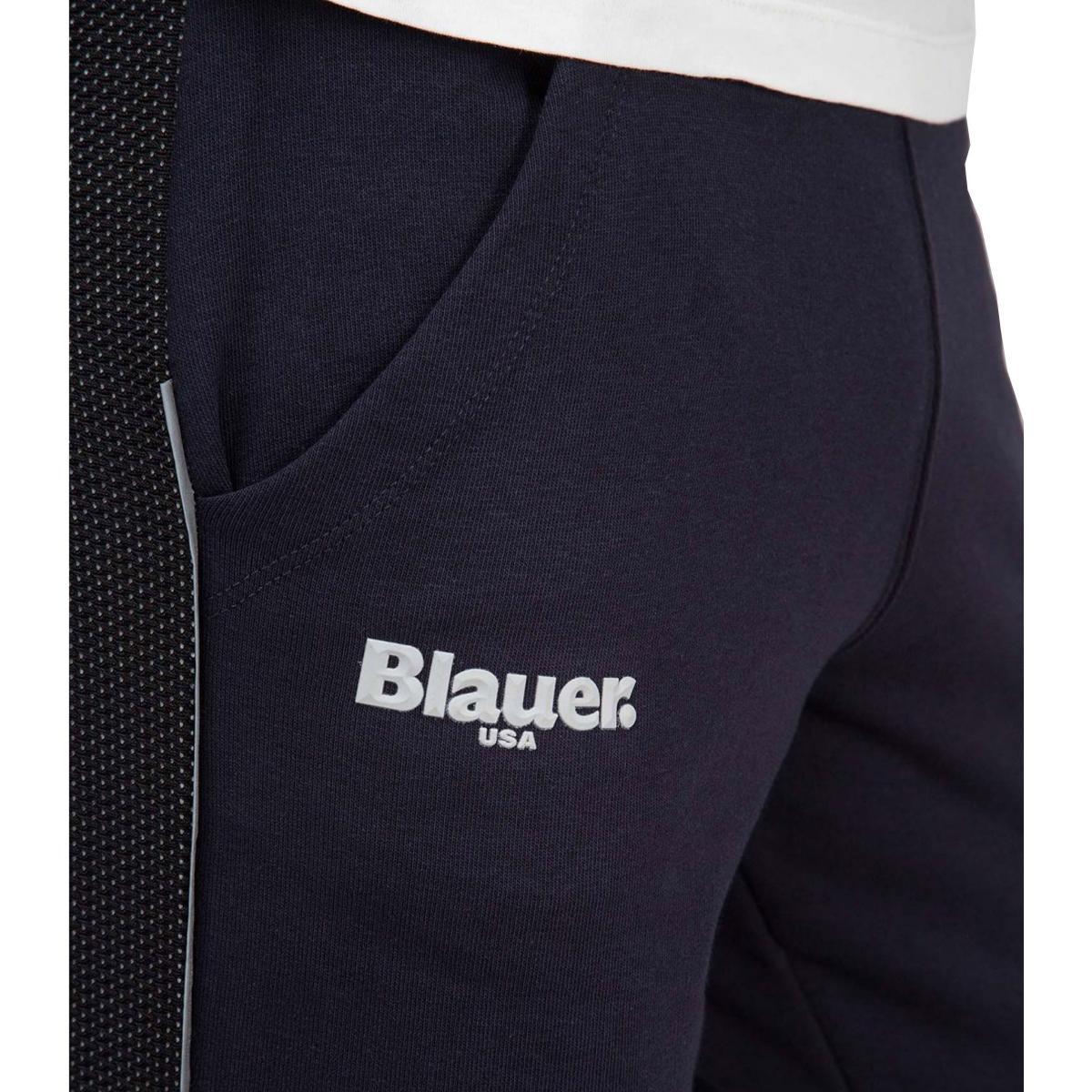 Tuta sportiva Blauer USA con logo sul petto da uomo rif. 19SBLUF15400 005331