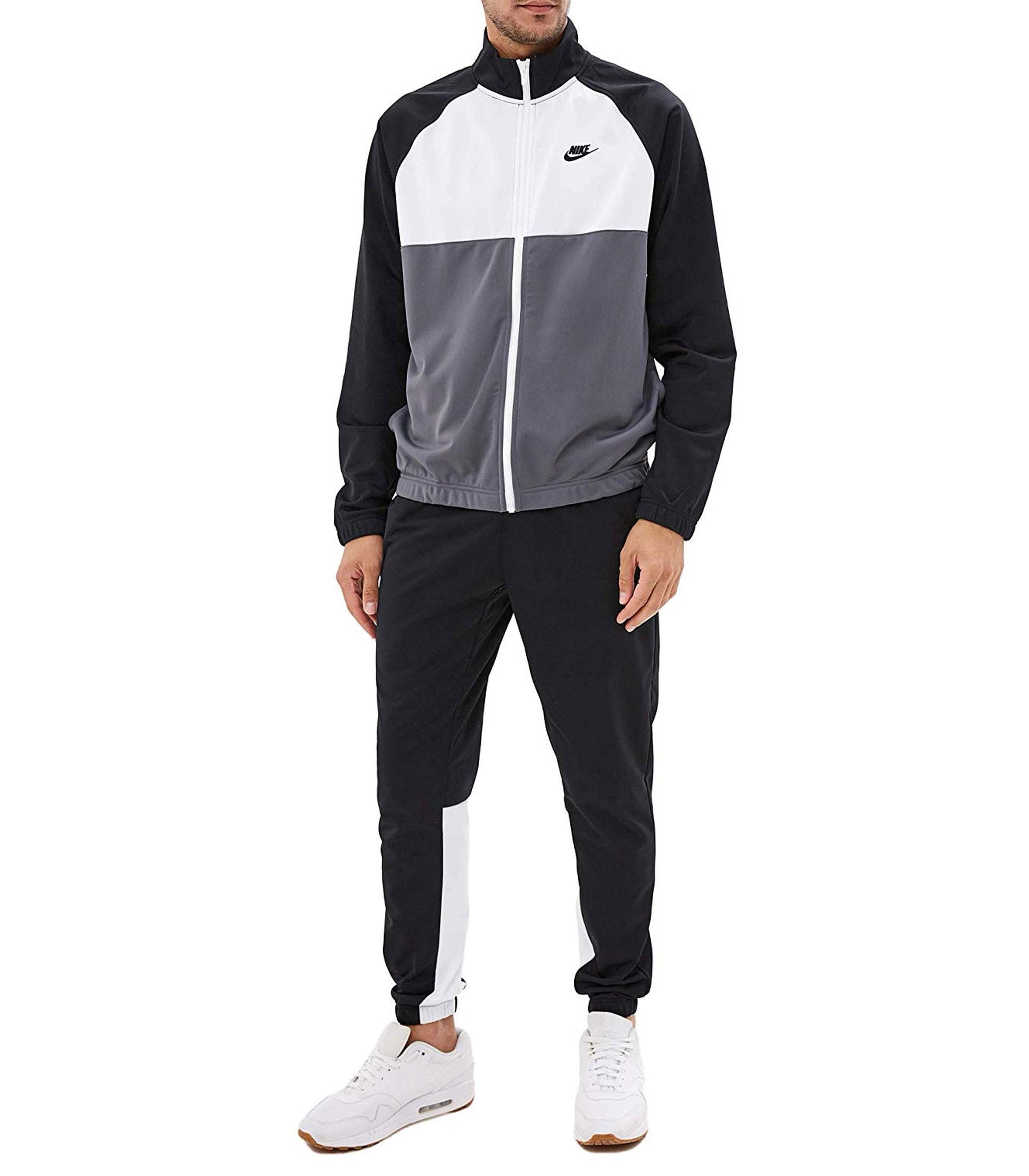 a6cea9effa Tuta Nike Sportswear felpa con zip pantaloni sportivi uomo BV3055-010