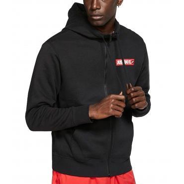 Felpa Nike Sportswear con logo Just Do It con cappuccio da uomo rif. BV5068-010