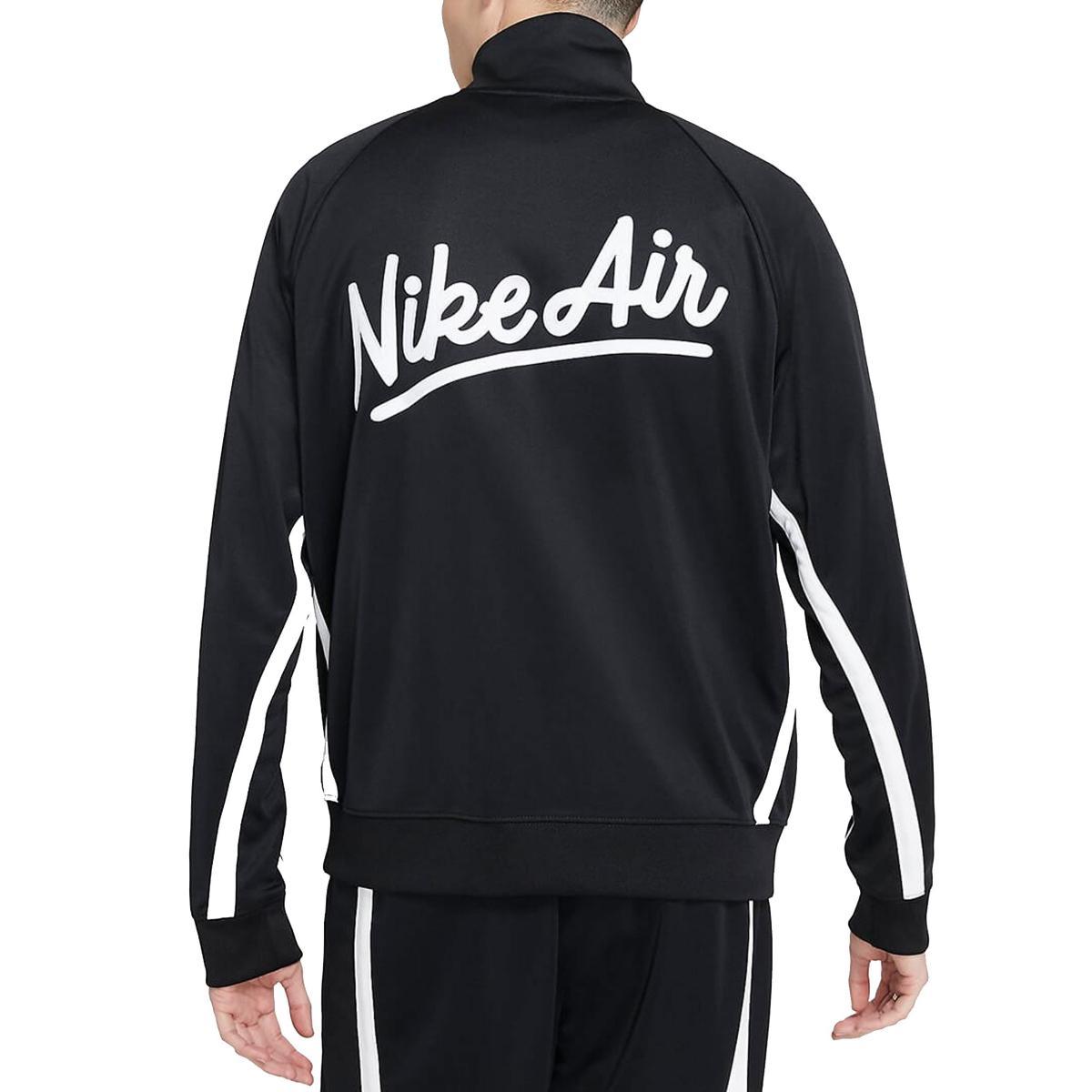 Felpa Nike Air con bande laterali e stampa sul retro da uomo rif. BV5154-010