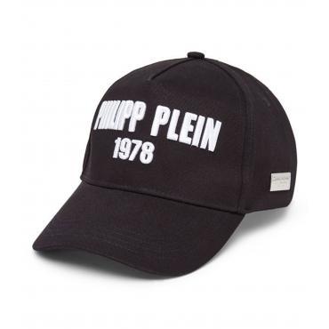 Cappello Philipp Plein Visor Hat con visiera con logo unisex rif. MAC0299