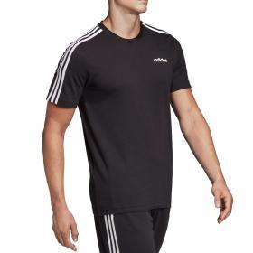 T shirt Adidas Essentials 3 Stripes da uomo rif. DQ3113