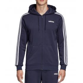 Felpa con cappuccio Adidas Track Jacket Essentials 3-Stripes da uomo rif. DU0471