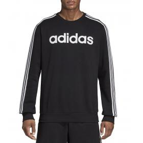 Felpa girocollo Adidas Track Jacket Essentials 3-Stripes da uomo rif. DQ3084
