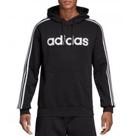 Felpa con cappuccio Adidas Essentials 3-Stripes Pullover Hoodie da uomo rif. DQ3096