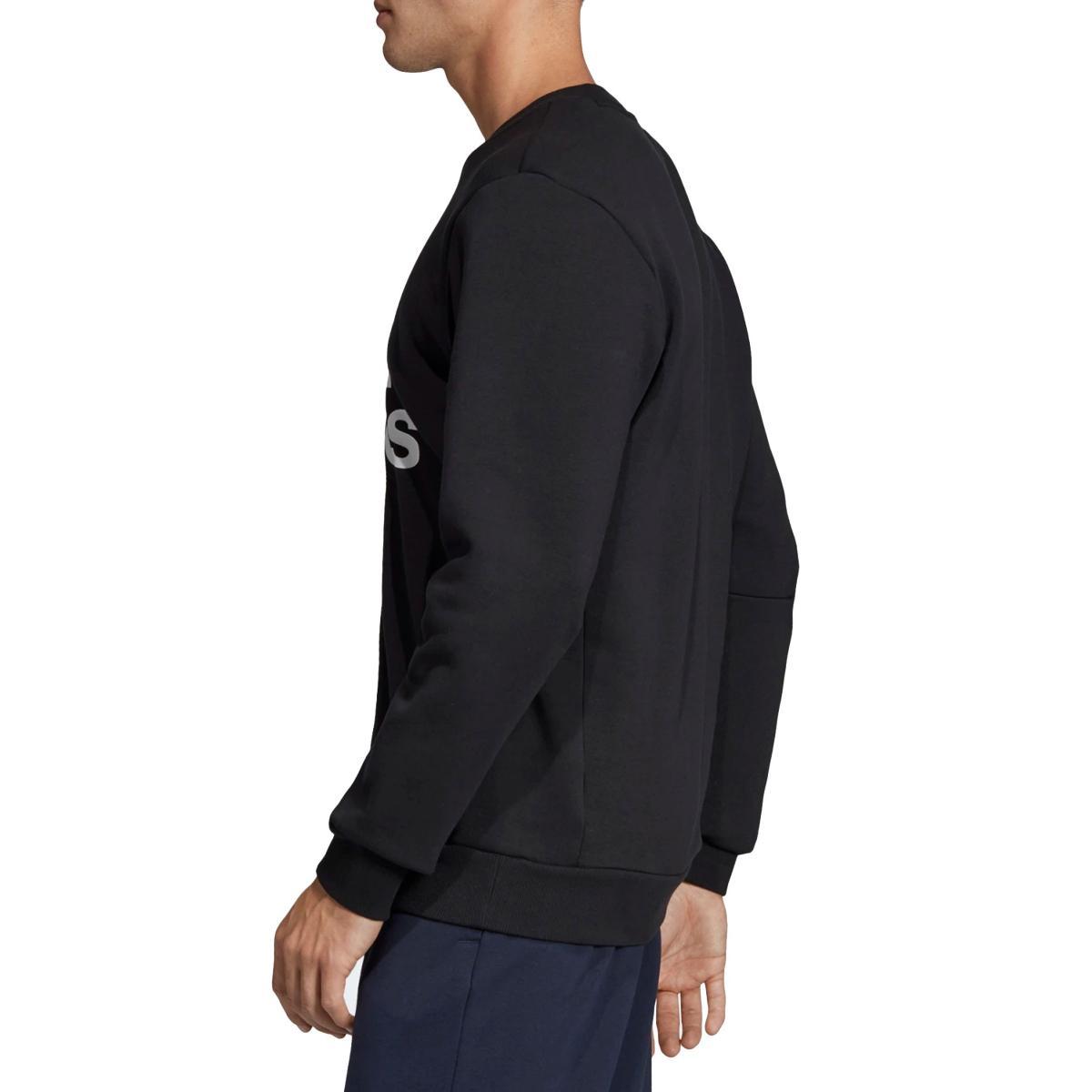 Felpa Adidas girocollo con stampa logo Must Haves Badge of Sport da uomo rif. EB5265