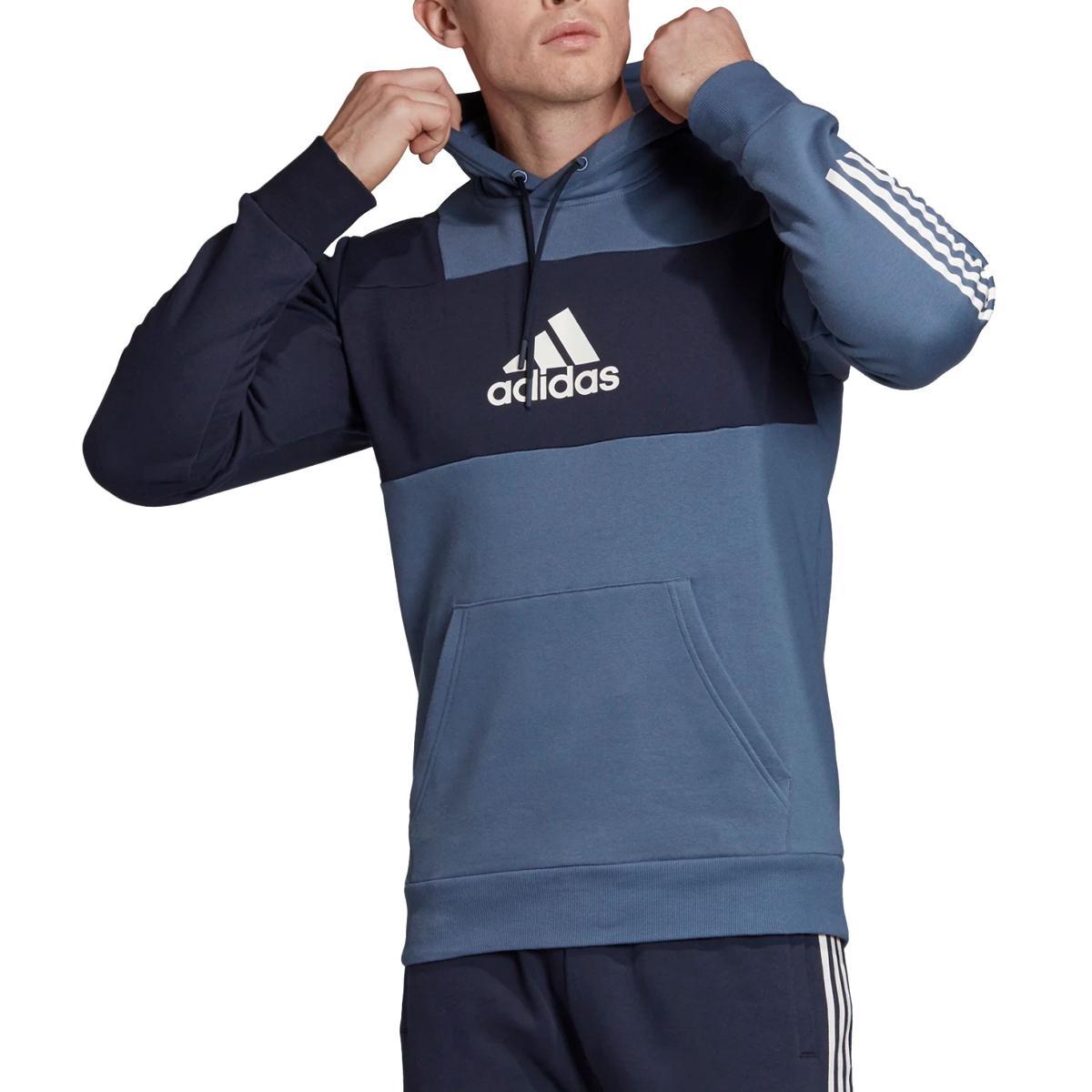 felpa adidas con cappuccio sport id hoodie da uomo rif