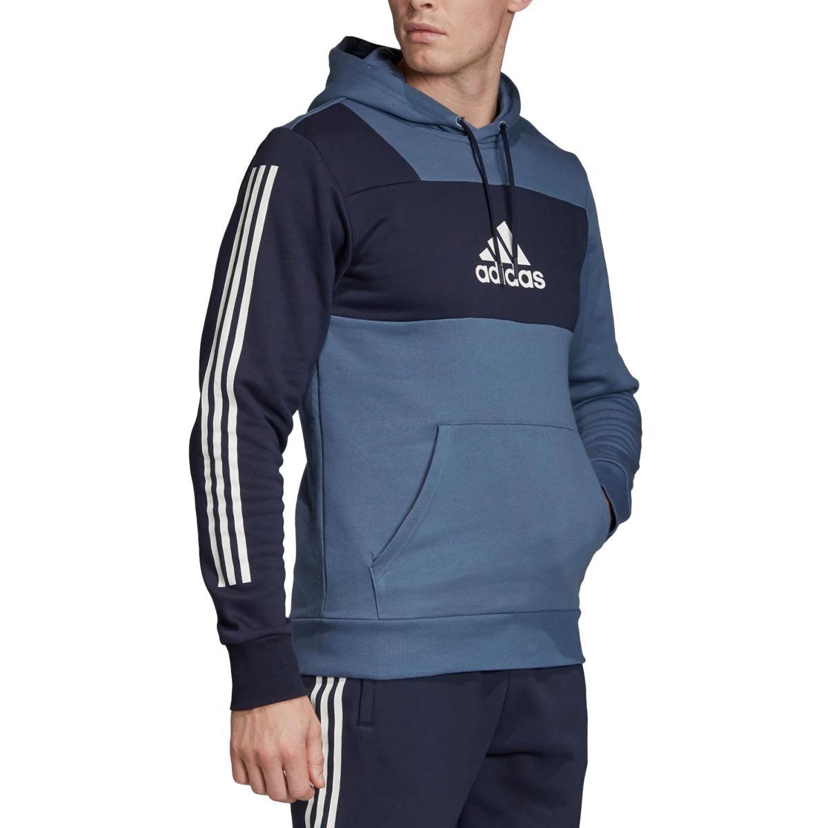 Felpa Adidas con cappuccio Sport ID Hoodie da uomo rif. EB7598