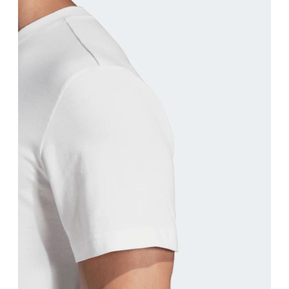 T-shirt Adidas girocollo con stampa Essentials 3-Stripes da uomo rif. DT9929