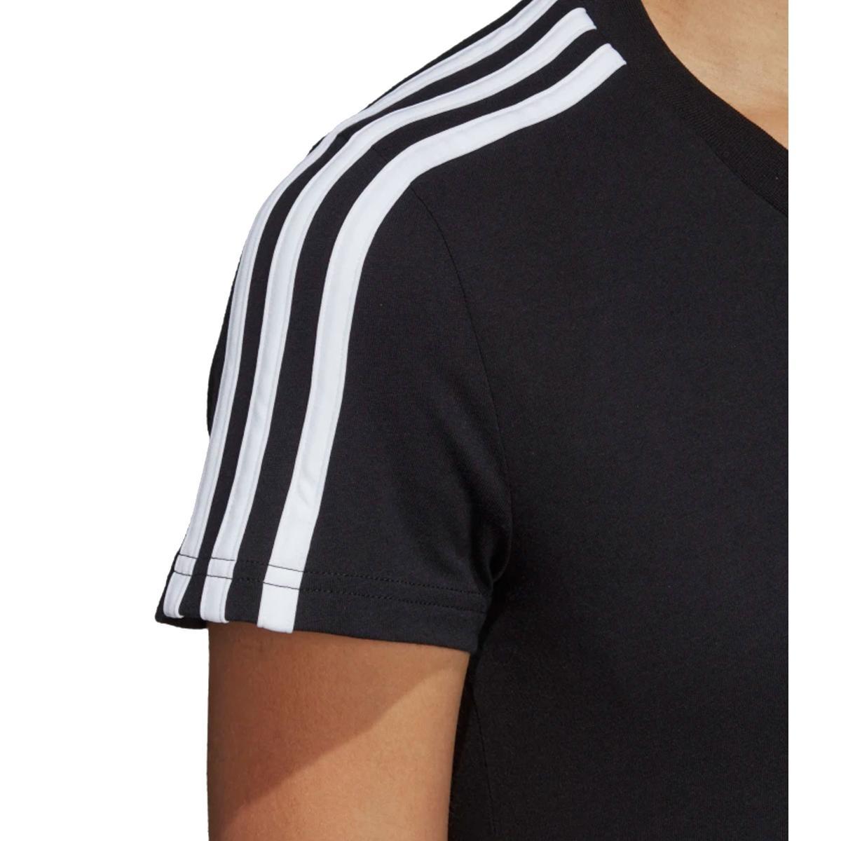 T-shirt Adidas girocollo Essentials 3-Stripes da donna rif. DP2362