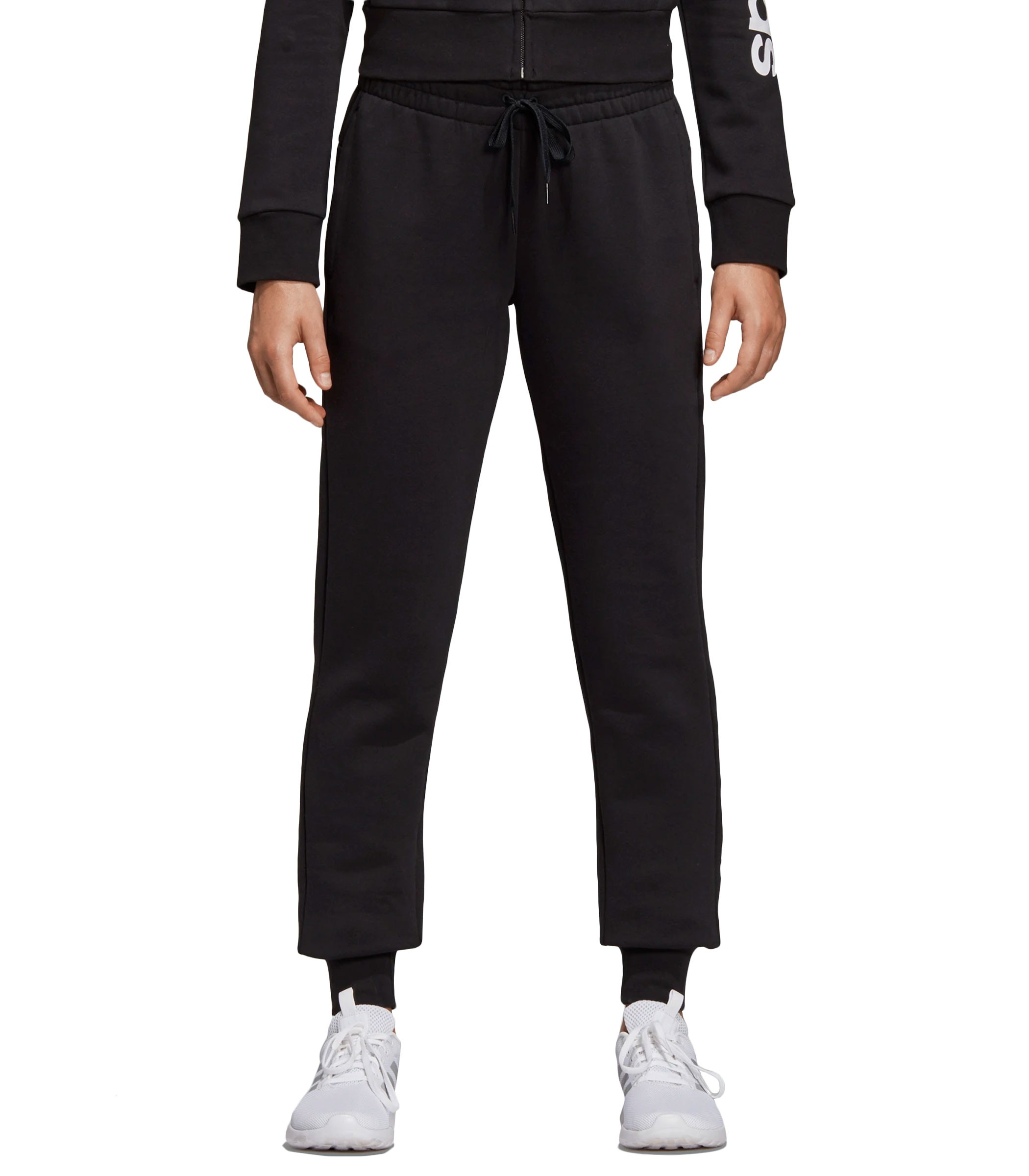 Pantaloni tuta Adidas con stampa Essentials Linear Pants ...