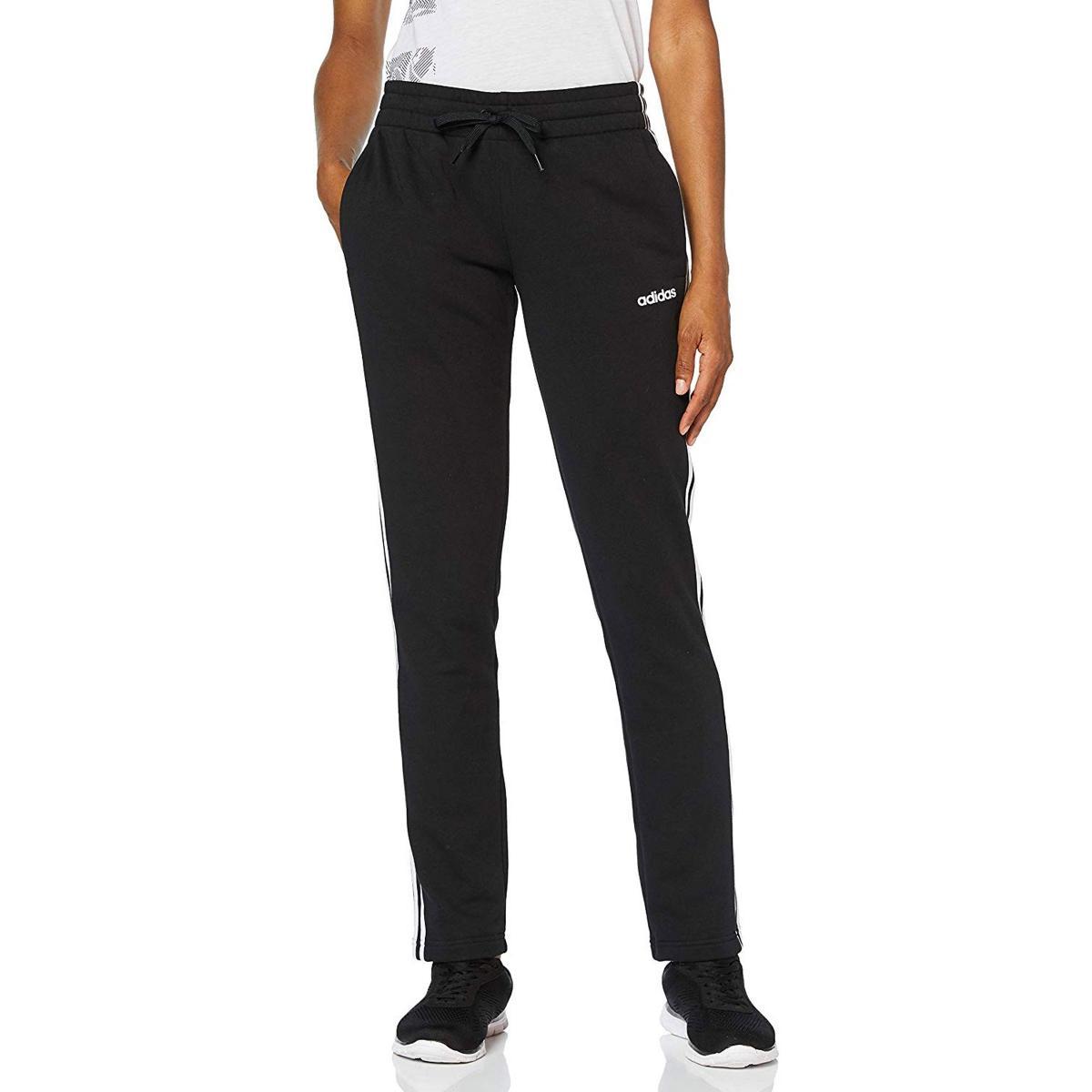 Pantaloni tuta Adidas Essentials 3-Stripes Open Hem Pants da donna rif. DP2373