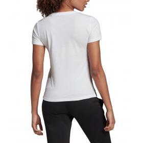 T shirt Adidas girocollo con stampa Brush Effect Logo Graphic Tee da donna rif. EI4559