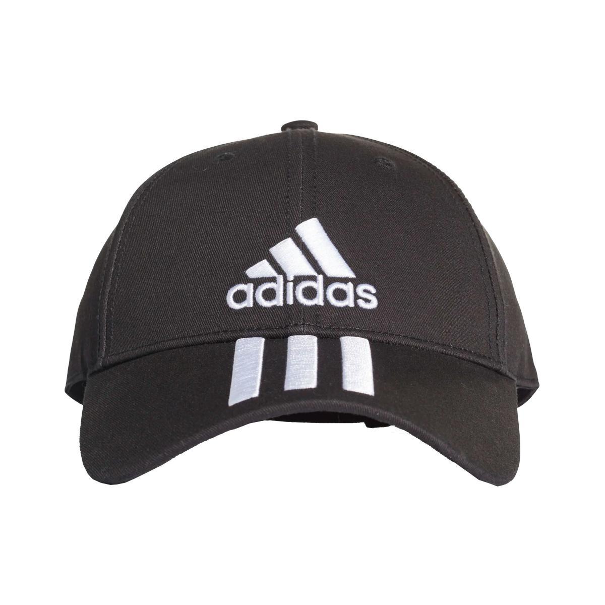 Cappello con visiera Adidas Six-Panel Classic 3-Stripes Unisex rif. DU0196