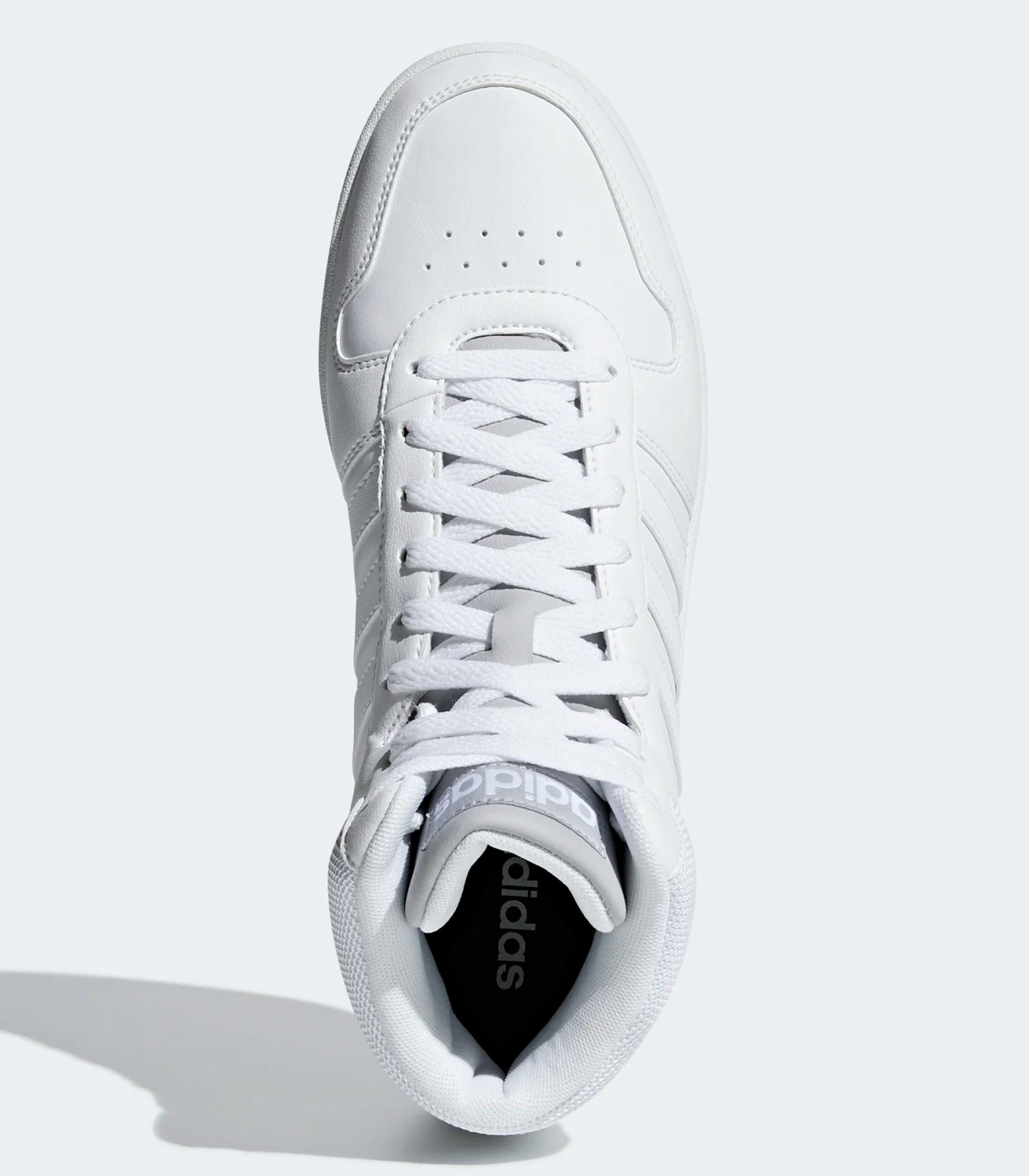 adidas hoops 2.0 bianche