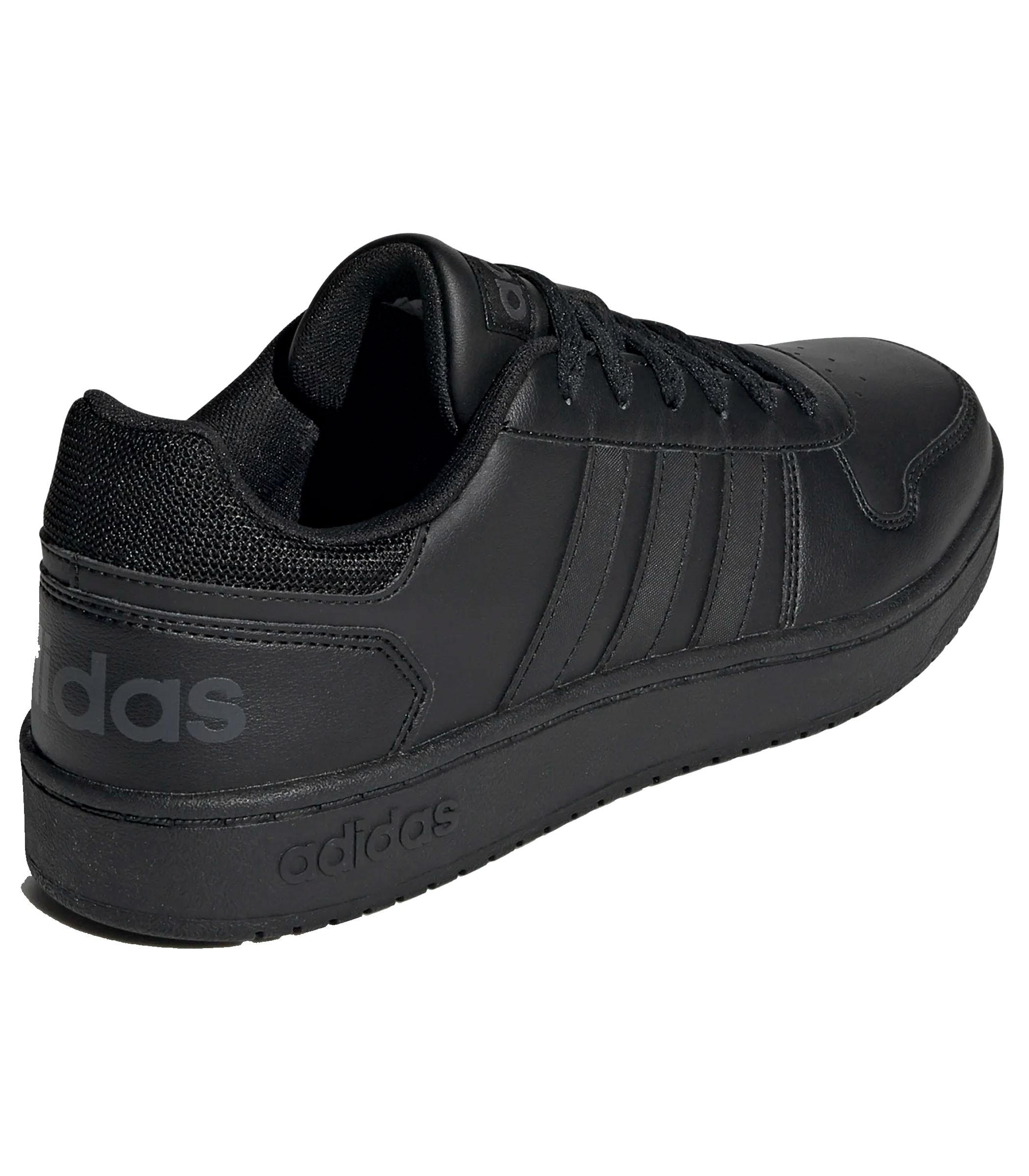 Scarpe Sneakers basse Adidas Hoops 2.0 colore nero da uomo