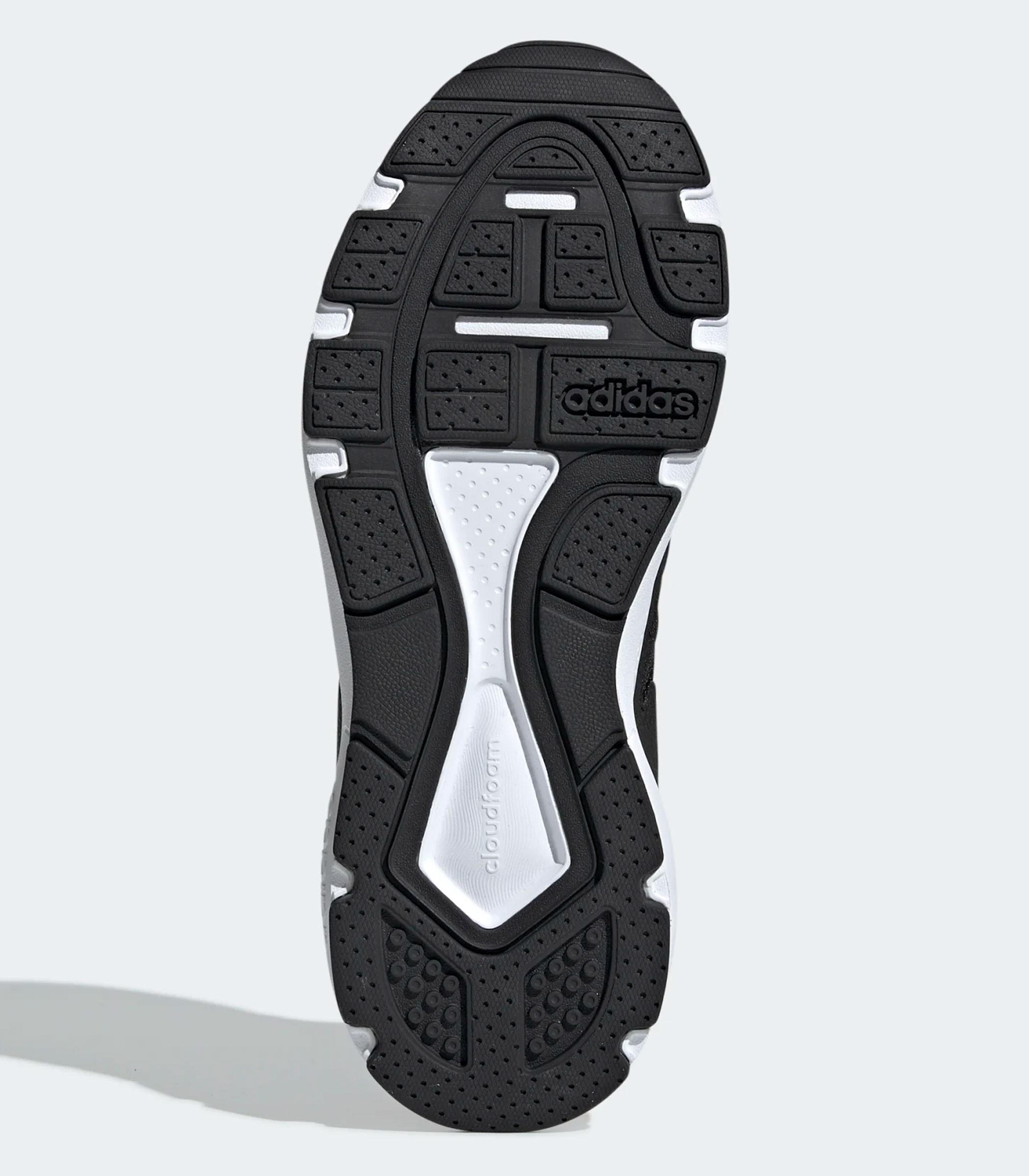 Scarpe Sneakers Adidas Chaos basse nero bianco da uomo rif