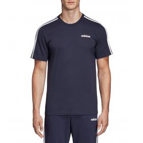 T-shirt Adidas girocollo con stampa Essentials 3-Stripes da uomo rif. DU0440
