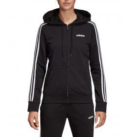 Felpa con cappuccio Adidas Essentials 3-Stripes da donna rif. DP2419