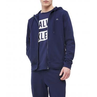 Felpa Calvin Klein Performance con cappuccio e zip da uomo rif. 00GMT9J438