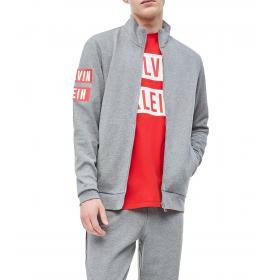 Giacca Calvin Klein Performance con zip integrale da uomo rif. 00GMT9J439