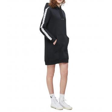 Abito Calvin Klein Jeans con cappuccio e fettuccia con logo da donna rif. J20J212289