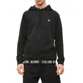 Felpa Calvin Klein Jeans con cappuccio e logo da uomo rif. J30J312470