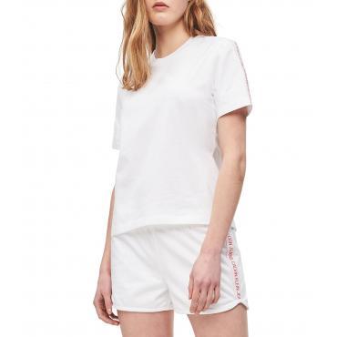 T-shirt Calvin Klein Jeans con logo tape da donna rif. J20J211880