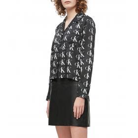 Camicia Calvin Klein Jeans con logo all over da donna rif. J20J212116