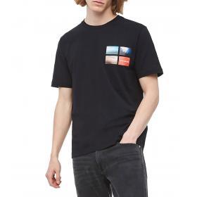 T-shirt Calvin Klein Jeans con stampa fotografica da uomo rif. J30J312834